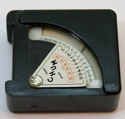 Arthur G. Gosling Bakelite Chum Functional Light Meter Made In England