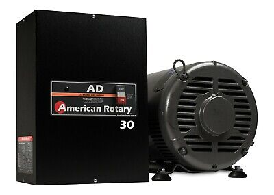 Rotary Phase Converter AD30 - 30 HP Digital Controls Heavy Duty CNC Made in USA