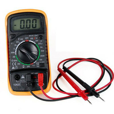 Digital Multimeter Voltmeter Ammeter AC DC Meter OHM 19 Range Connectivity