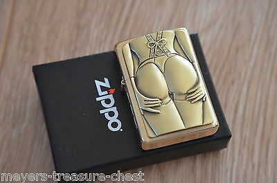 ZIPPO Golden Stocking Girl - limited Special Edition - very rare collectible