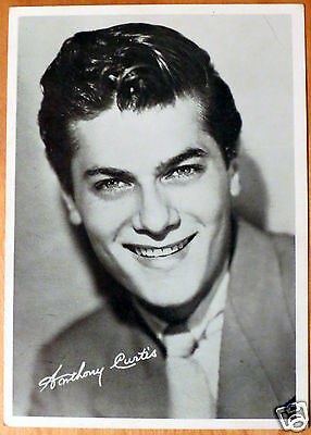 Moxie Stars 5X7 Black/White Glossy Photo Anthony Tony Curtis