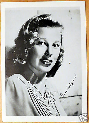 Moxie Stars 5X7 Black/White Glossy Photo June Allyson