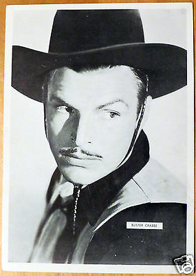 Moxie Stars 5X7 Black/White Glossy Photo Buster Crabbe
