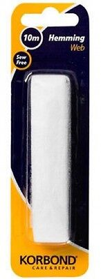 Hook /& Loop 2cm x 50cm Stick On Hard Surfaces Sewing Button Zips Press Black