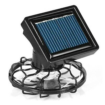 TRIXES Sun Solar Powered Cooling Fan Clip-On Mini Solar Panel Cell Beach