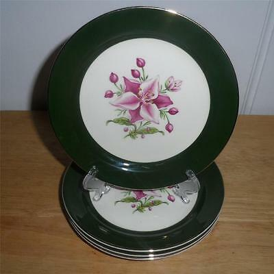 Taylor Smith Taylor Appalachian Heirloom Bonnie Bread & Butter Plate Set of 4