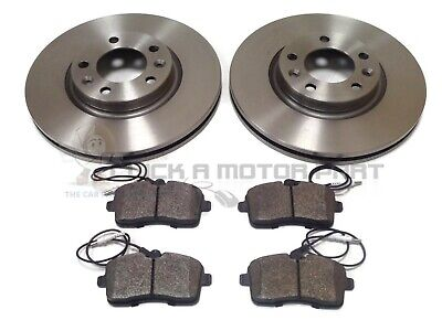 PEUGEOT 407 1.6 1.8 2.0 HDi ESTATE 04-11 FRONT BRAKE DISCS AND PADS SET NEW