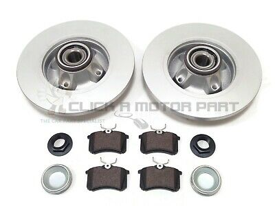 Peugeot 308 Sw Estate Rear Brake Discs & Pads Wheel Bearings Abs Ring (Check)