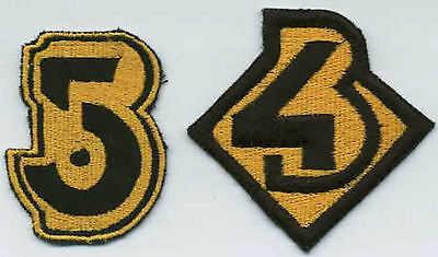 B5  Babylon 5 Embroidered Iron-On Patch Set - B5 & B4