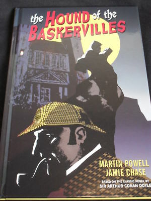 The Hound Of The Baskervilles Hard Cover. Martin Powell (D.h Comics) Free Uk P+P