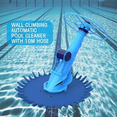 10m Hose Above In Ground Climbing Auto Swimming Pool Cleaner Barraduca Diaphragm