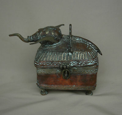 Rare Elephant Beetle Nut Box