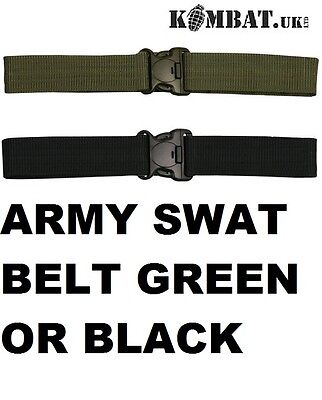 """2"""" British Army Police Style Tactical Swat Belt Rigger -Combat Security Ta Cadet"""