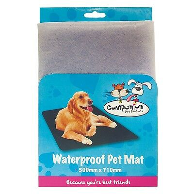 Waterproof dog cat pet travel mat cover surfaces protector liner brand new