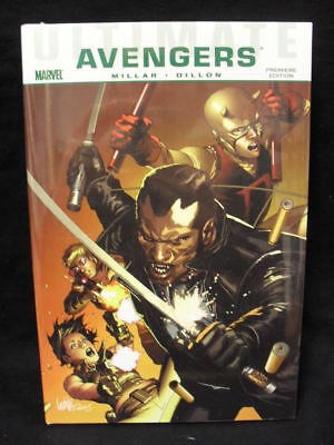 Ultimate Comics Avengers: Blade Vs Avengers Hard Coverreduced!