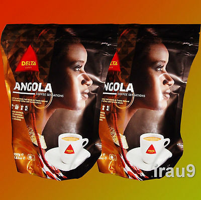 Coffee Delta Angola 2x 220g Ground, Portuguese, best of Africa Café Portugal