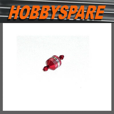 Cpv 51756R Alloy Fuel Filter Red Type A For 1/10 Scale Nitro Rc Buggy Car Truck