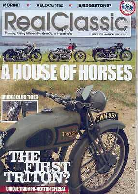 REAL CLASSIC No.107 / March 2013 (NEW) *Post included to UK/Europe/USA