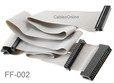 "36"" Universal 34-Pin Floppy Drive Ribbon Cable for 3.5"" and/or 5.25"" Drives"