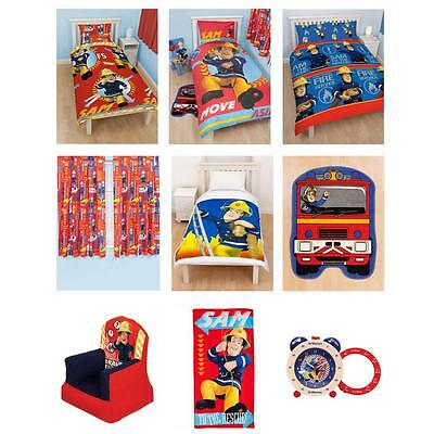 New Fireman Sam Bedroom Accessories Bedding Furniture Official