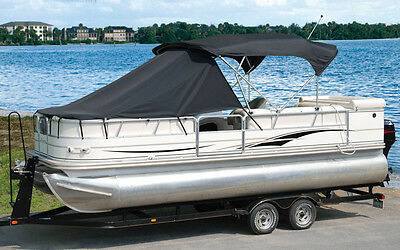"""Pontoon Boat Playpen Sun Shade Cover 18' - 20' Boats:  8 1/2' Length X 96""""W"""