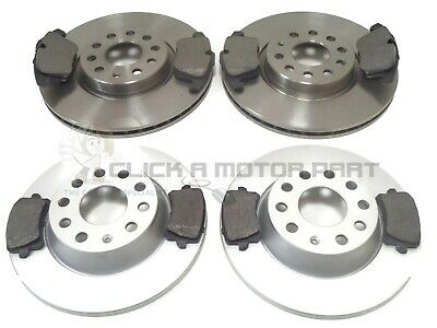 FOR VW TIGUAN SPORT 2.0 TDI 2008-2011 FRONT AND REAR BRAKE DISCS /& PADS NEW