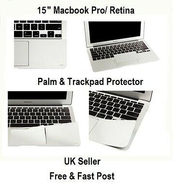 PALM GUARD TRACK PAD COVER FILM PROTECTOR for MACBOOK PRO 15 INCH RETINA LAPTOP