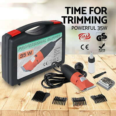 35W Professional Electric Pet Clipper Dog Cat Horse Trimmer Hair Comb Grooming