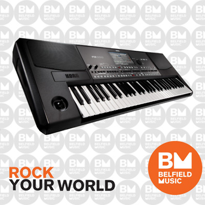 Korg PA600 Arranger Keyboard Professional 61 Key Note PA-600 Black - BNIB - BM