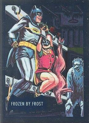 2016 DC Comics Justice League DC7-P4 Batman Classic TV Frozen By Frost NSU Card!
