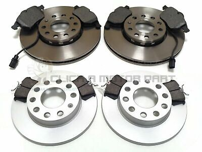 Audi A4 B7 1.9 Tdi 2004-2008 Front & Rear Brake Discs And Pads Set New