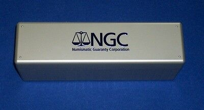FOUR (4) Official NGC Slab Storage Boxes-NEW - NEVER USED - Each Holds 20 Coins