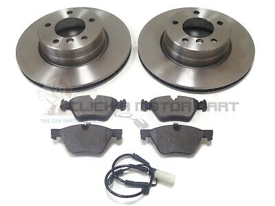 BMW E39 5 SERIES 520 523 525 525D 528 FRONT BRAKE DISC PADS SET OF4 NEW