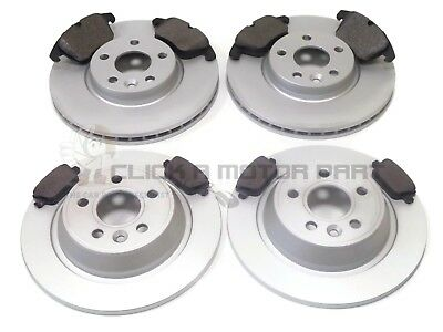 FORD MONDEO MK4 2.0 TDCi + 2.2 TDCi 07-12 FRONT & REAR BRAKE DISCS & PADS CHECK