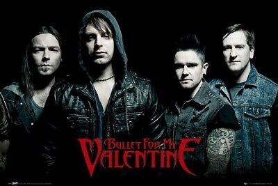 BULLET FOR MY VALENTINE ~ TEMPER 24x36 MUSIC POSTER Tuck Paget Thomas James