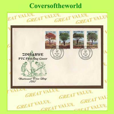 Zimbabwe 1981 National Tree Day set First Day Cover