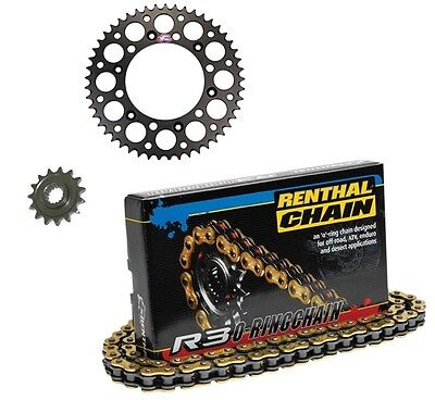 Renthal R3 O-Ring Chain & Sprocket Kit for Yamaha YZ 450 F 06-2011 13t 49t Black
