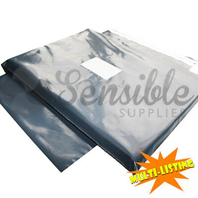 Strong Mailing Postage Bags Quality Grey Plastic Poly Self Seal Fast & Free P+P