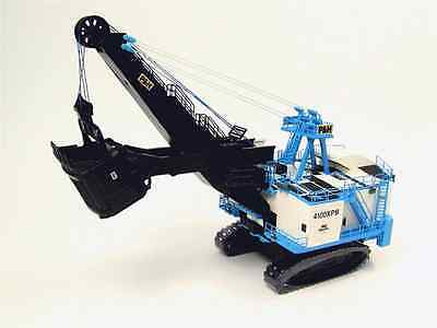 TWH - P&H 4100XPB Electric Crane 1/87 scale Blue & White Die-cast MIB