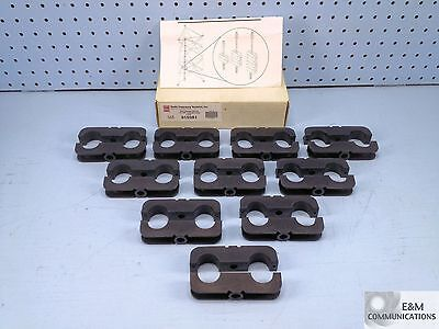 "915981 Rfs Antenna Mini Hanger Blocks For 7/8"" Coax Cable 10-Pack New"