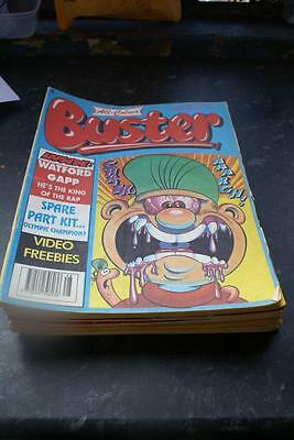 BUSTER COMIC IDEAL BIRTHDAY ANIVERSARY DATE July 11, 1992