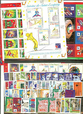 Timbres France Neufs ** Luxe Annee 1998 + Blocs 19 A 21 Sauf Yt N° 3156A 61