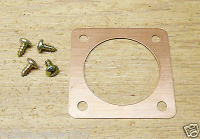 "Copper Portal for Western Bluebird Houses and Nest Box Entry 1.563"", 1 9/16"""