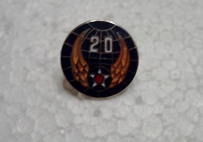 US ARMY LAPEL OR CAP PIN 20TH AIR FORCES     NEW