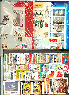 Timbres France Neufs ** Luxe Annee 1999 Sauf 3211 Cote 200 € Faciale 44 €