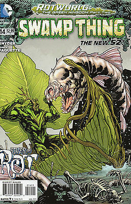 Swamp Thing #14 (NM) `13 Snyder/ Paquette