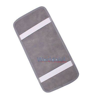 New Gray Car Visor CD Card Storage Organizer Holder for 12 Pieces CD