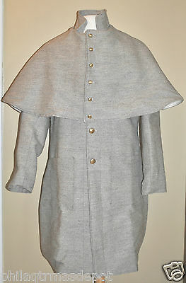 Confederate Jean Wool Great Coat - Highest Quality - (Even Sizes 32-50)