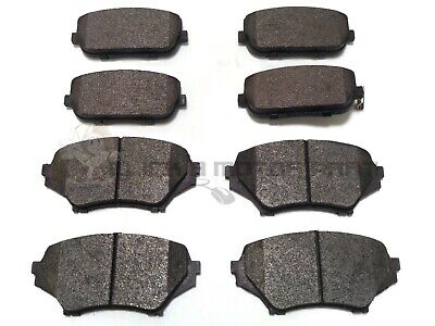 Front And Rear Brake Pads New Set For Mazda Mx 5 Mx5 1.8 + 2.0 2006-2014