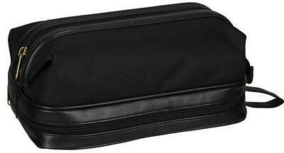 Dopp Super Nylon Travel Kit Bag With Accessories - Men's Toiletry Black 06773